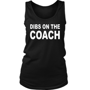 Dibs On The Coach Basketball T-Shirt