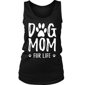 Dog Mom Fur Life T-Shirt for Dog Lovers