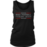 Make Football Violent Again Shirt - Purple