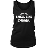 Funny Mechanic T Shirt Real Men Smell Like Diesel Tee Gift