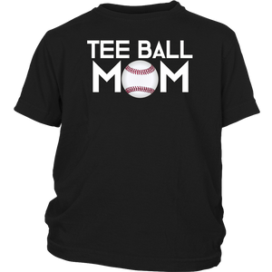 T-Ball Mom Tshirt | Tee Ball Shirt for Mom