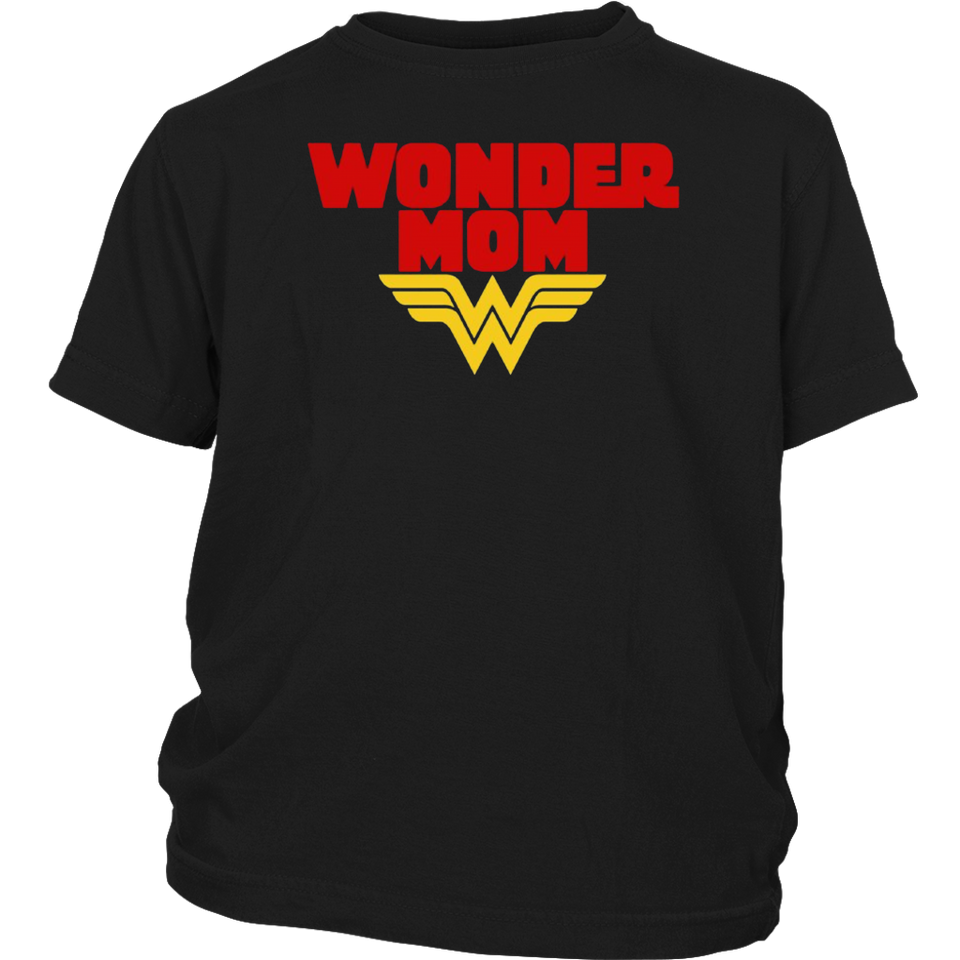 Wonder mom T-shirt
