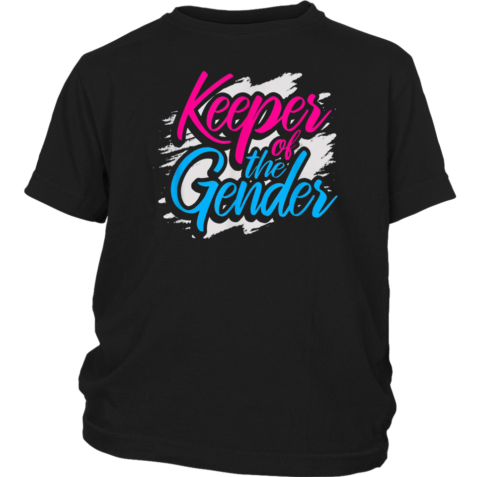 Keeper Of The Gender Reveal T Shirt