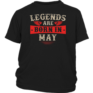 Legends Are Born in May T-Shirt