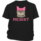 Purrsist Resist Persist Pussy Cat Hat T-Shirt