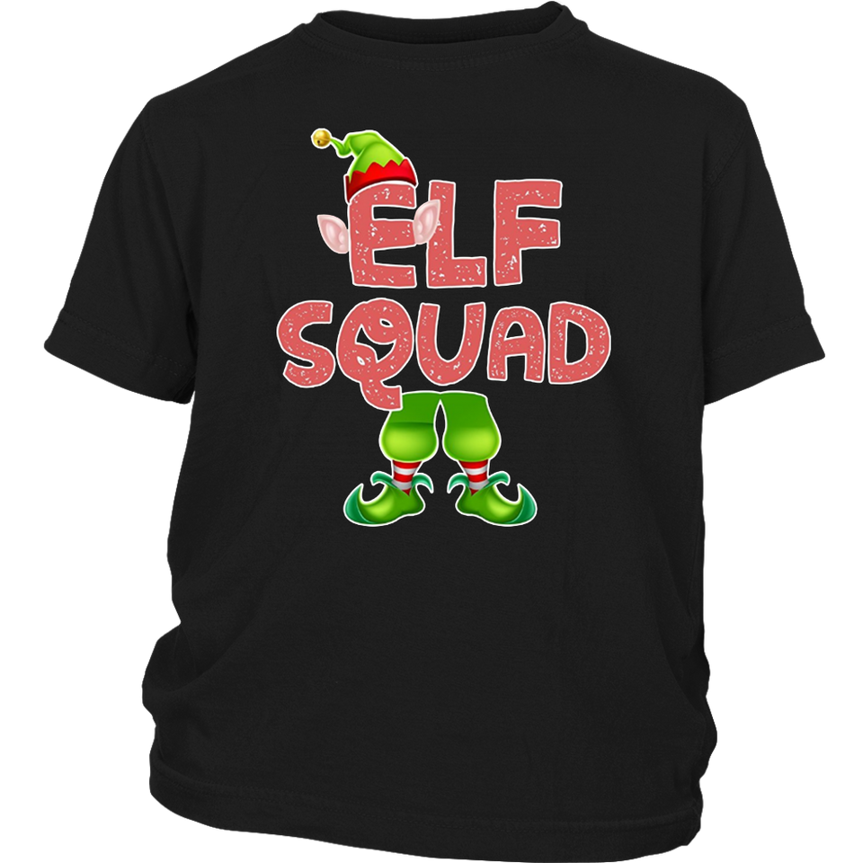 Elf Squad Christmas Elf Fun TShirt