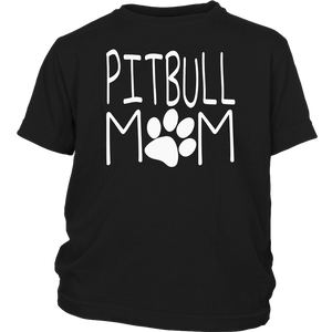 Pitbull Mom T Shirt