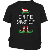I'm The Smart Elf Matching Group T Shirt Family Christmas Shirt