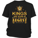 Kings Are Born In August Shirt