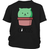 Catcus Funny Cat Pun - Cute Cactus T Shirt Gift