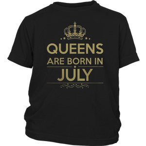 Queens Are Born In July TShirt