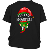 I'm The Smart Elf Matching Family Group Christmas T-Shirt