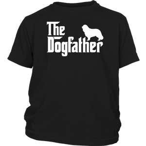 The Dogfather Shirt Dad Dog T-shirt | Funny Father's Day Tee