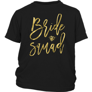 Bride Squad Shirts Bachelorette Party With Ring