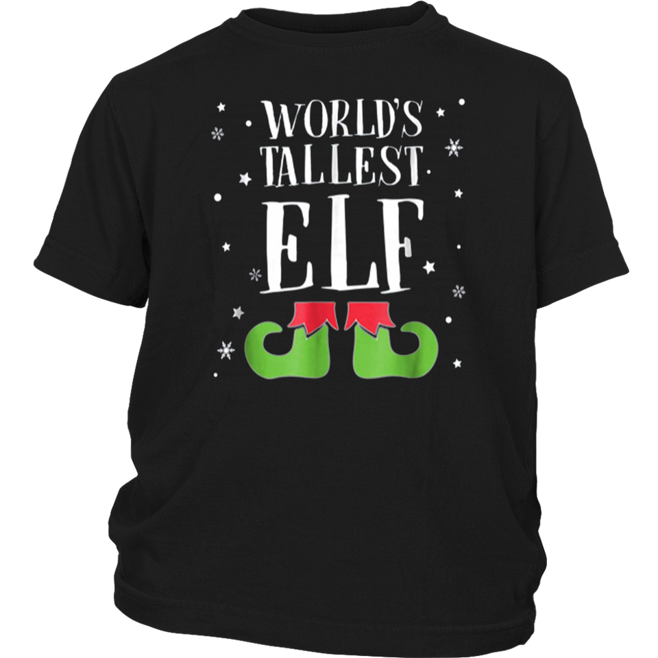 World's Tallest Elf T Shirts