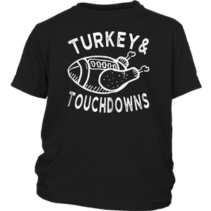 Turkey and Touchdowns T-Shirt