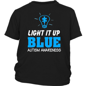 Light it up Blue Shirt