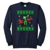 Dabbing Elf Sweatshirt