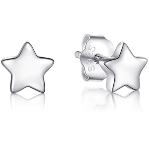 "Earrings - ""FREYA"" SILVER STAR STUD EARRINGS"
