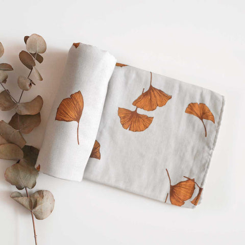 Miwa cotton muslin wrap