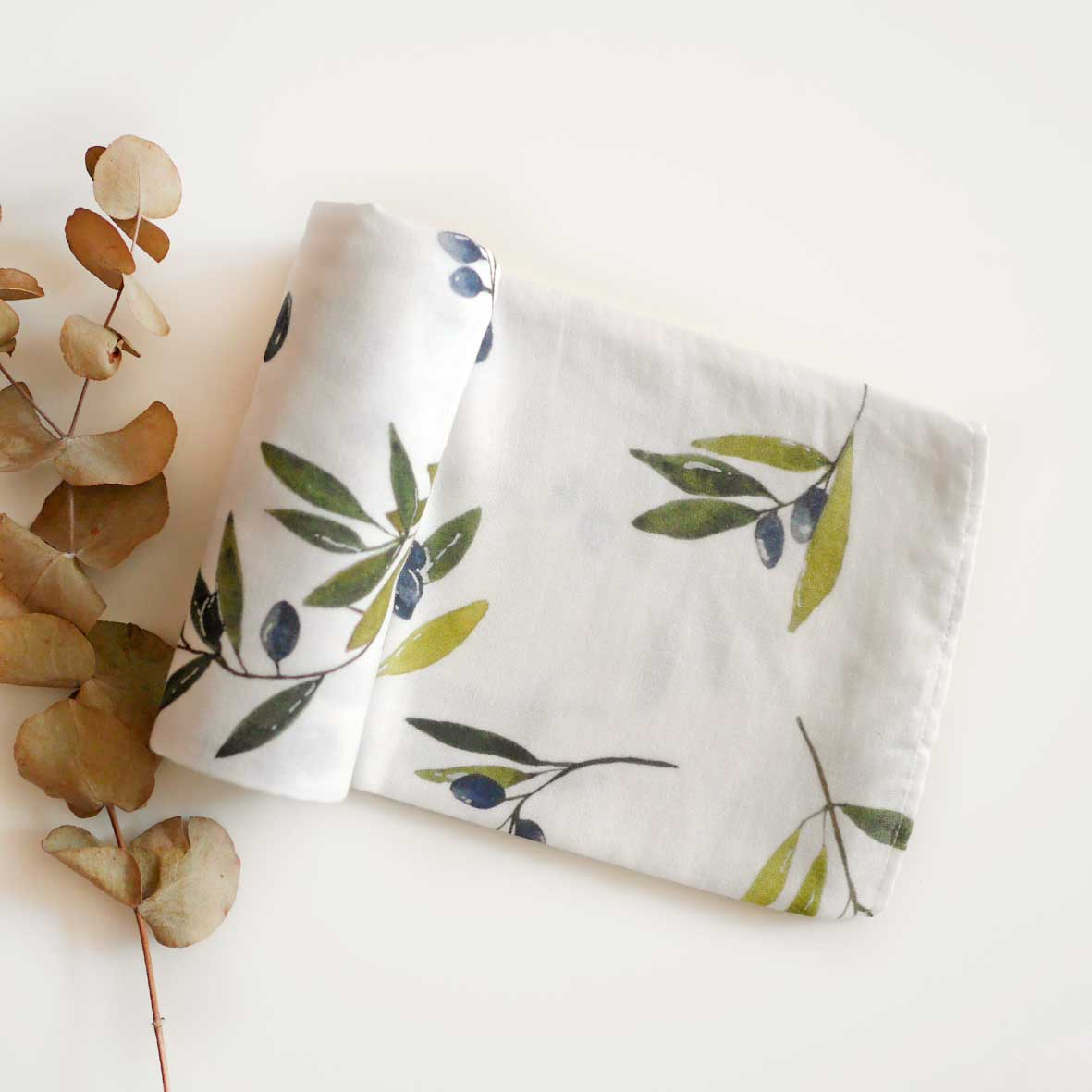 Oliver cotton muslin wrap
