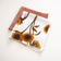 Twin pack - Rust and Sunny Cotton Muslin Washcloth
