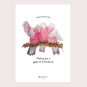Galah of a Christmas Print