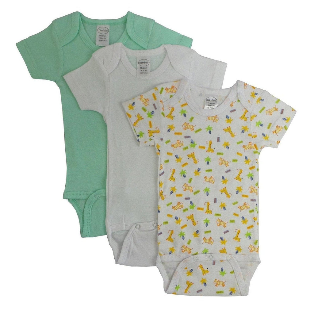 Printed Short Sleeve Variety Pack for Boys