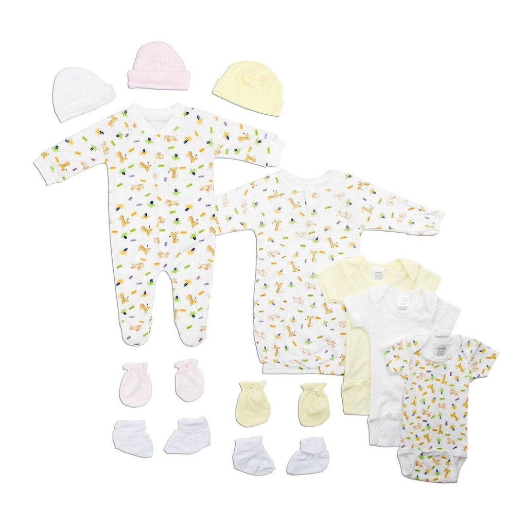 Newborn Baby Girls 12 Pc Gift Set