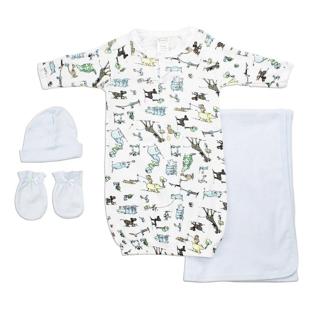 Bambini Boys' 4 Piece Layette Set