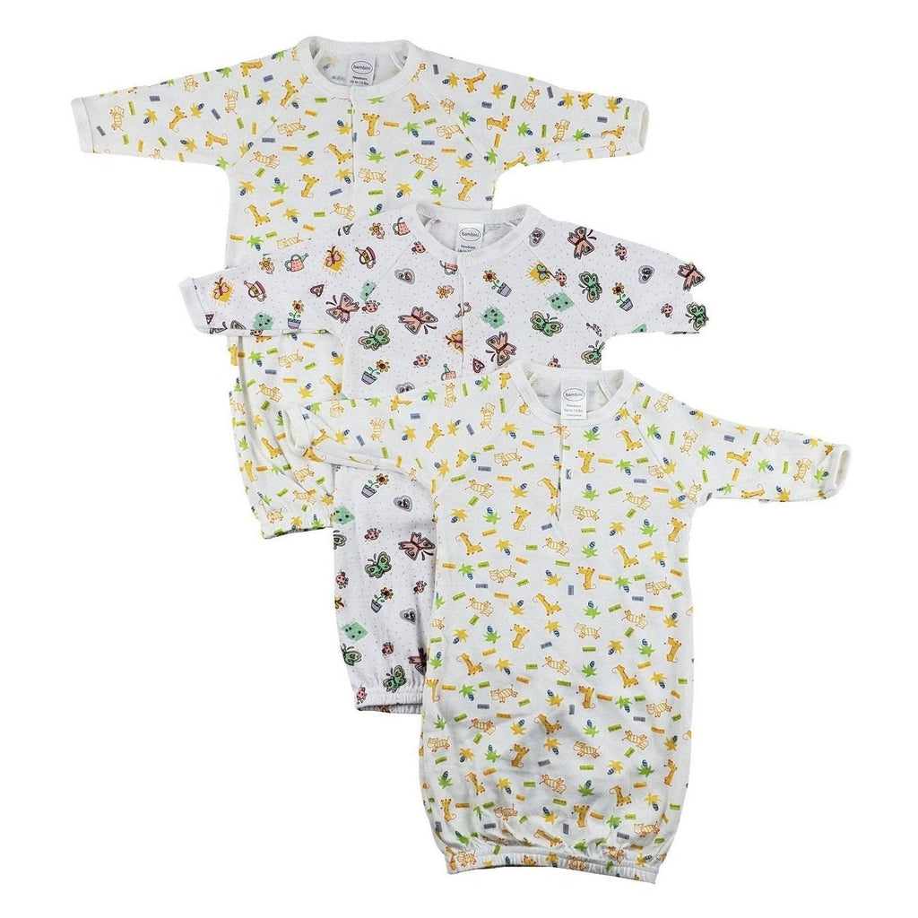 Infant Gowns - 3 Pack