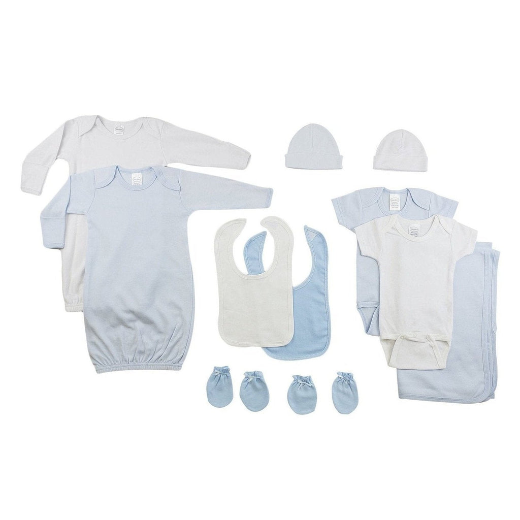 Boys 10 Piece Layette Set
