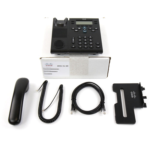 Cisco CP-6941 SIP VoIP IP Telephone PoE - Refurbished - amtech system