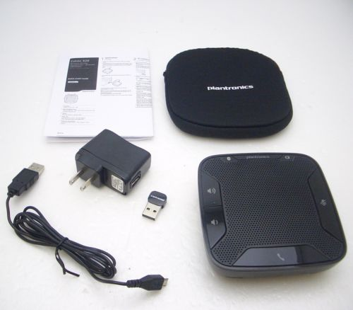 PLANTRONICS CALISTO 620 P620 Bluetooth Wireless USB Speakerphone with Carry Case - amtech system