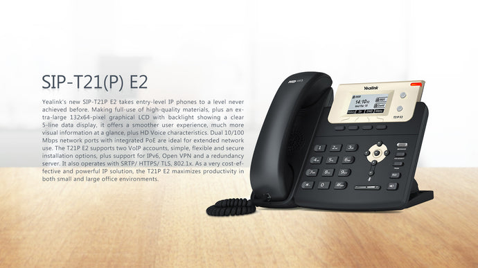 Yealink T21 E2 IP Phone - amtech system