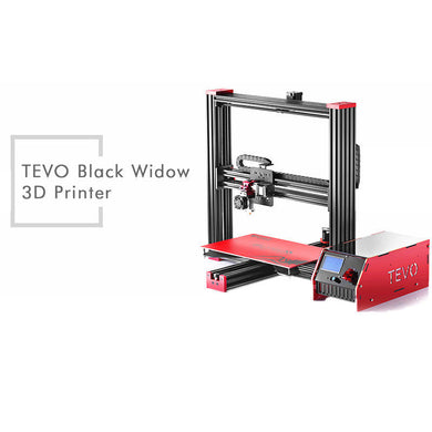 NEW TEVO Black Widow LCD DIY 3D Printer Kit 370 X 250 X 300mm US - amtech system