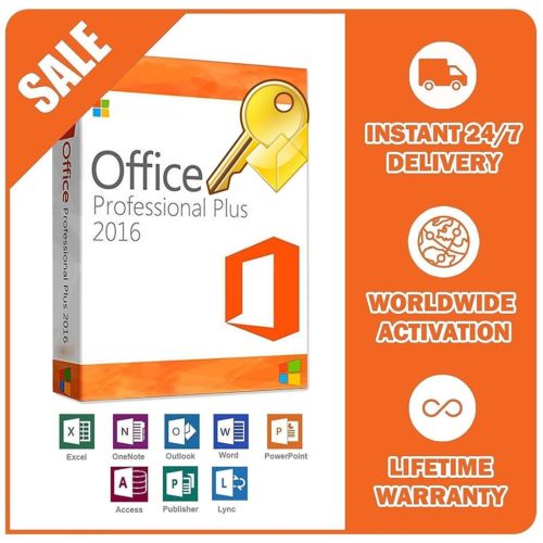 Genuine Microsoft Office 2016 Professional Plus Product Key - amtech system