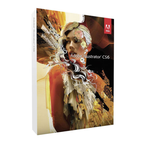 Adobe Illustrator Creative Suite 6 CS6 Vollversion English Retail Windows Mac - amtech system