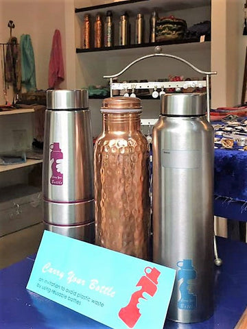 Reusable Bottles | Eco-Friendly Bottles | Recycle | Carry your bottle | Shanto | No Nasties