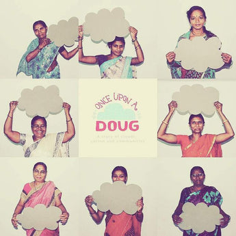 No Nasties and Once Upon A Doug non-profit project working with women cotton farmers in India