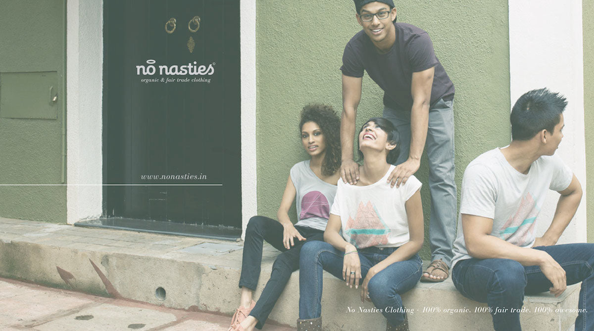 No Nasties Lookbook - organic fairtrade clothing