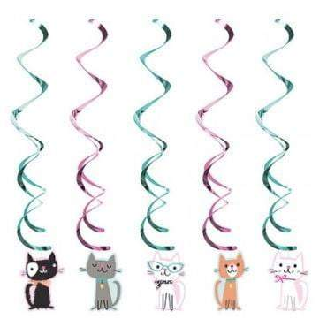 Purrfect Cat Party Dizzy Danglers