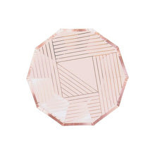 Load image into Gallery viewer, Manhattan - Pale Pink Small Paper Plates