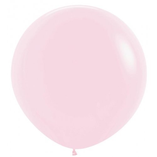 Giant Pastel Pink Latex Balloon - 36