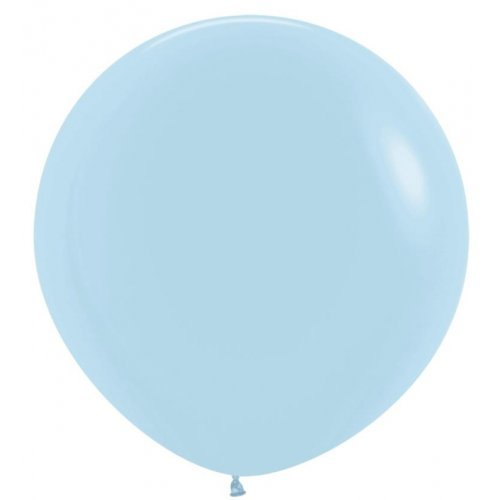 Giant Pastel Blue Latex Balloon - 36