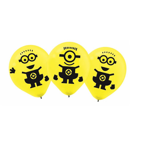Minion Madness Latex Balloons