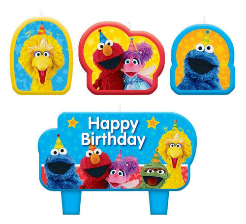 Sesame Street 1st Birthday Candles