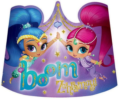 Shimmer and Shine Party Tiaras