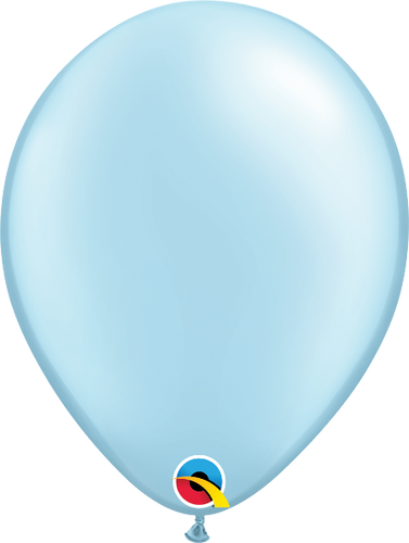 Light Blue Latex Balloon