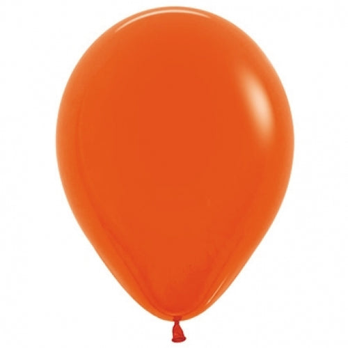 Orange Latex Balloon